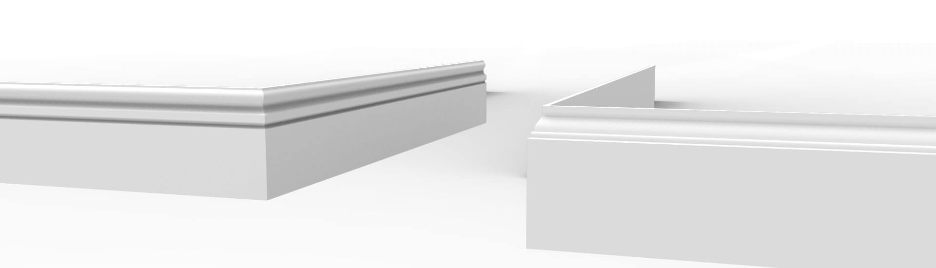 Modern MDF Skirting Boards