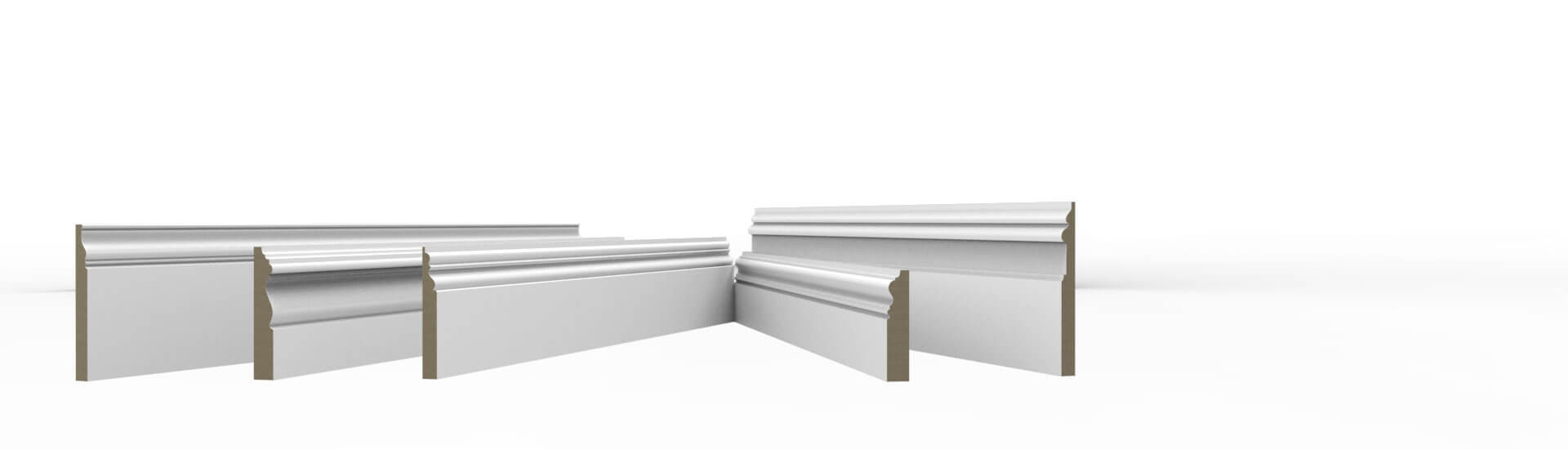 Period MDF Skirting Boards