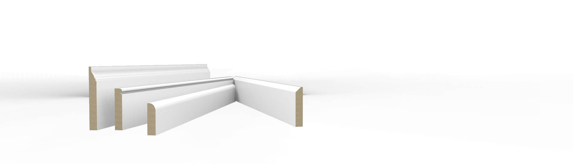 Small MDF Skirting Boards
