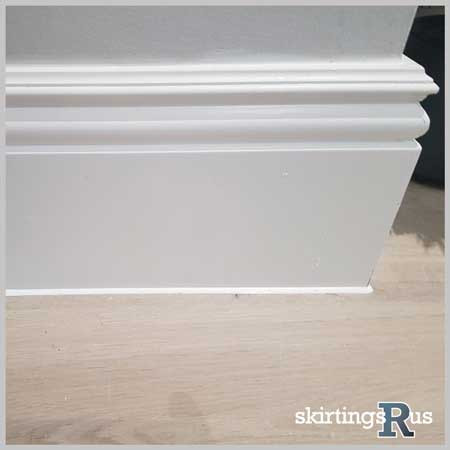 how to cut skirting board external corners