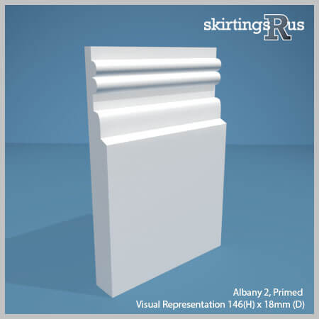 Albany 2 MDF Skirting Board