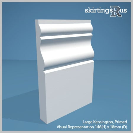 Large Kensington MDF Skirting Board
