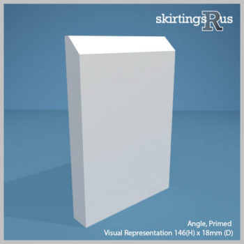 Angle MDF Skirting Board