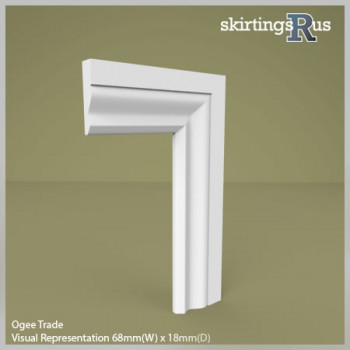 Ogee Express MDF Architrave