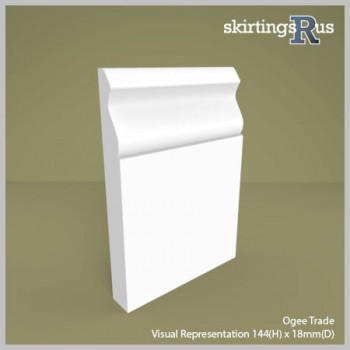 Ogee Express MDF Skirting Board