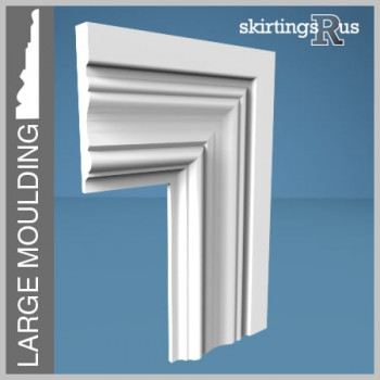 Palace MDF Architrave has a large moulding that is 85mm high