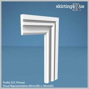 Profile 327 MDF Architrave