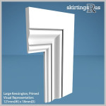 Large Kensington MDF Architrave