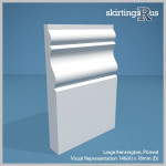 Kensington Large MDF Skirting Board