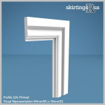 Profile 324 MDF Architrave