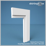 Rebated Front MDF Architrave