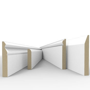 View our Express range of MDF skirting boards