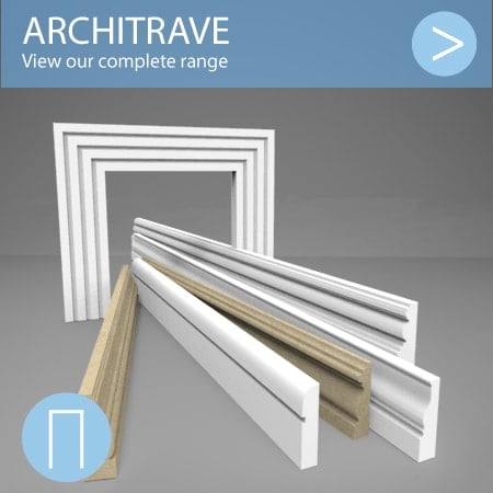 Architrave range image button showing lengths of architrave.