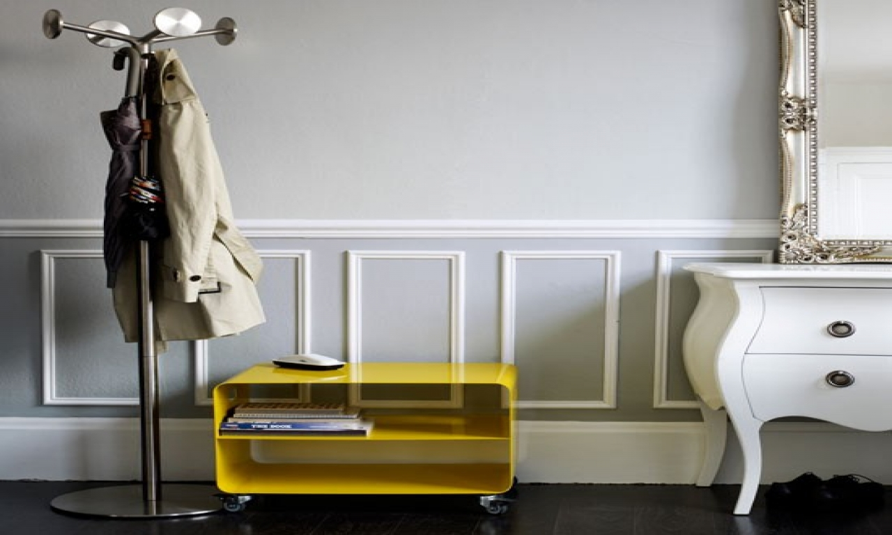 Dado Rail being used to create a panelling effect