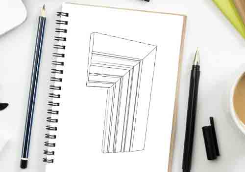 Skirting Board Profile Drawing