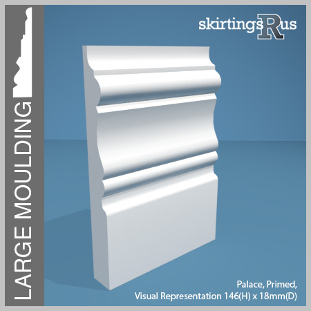 Palace Large Skirting Board 146mm H 18mm D