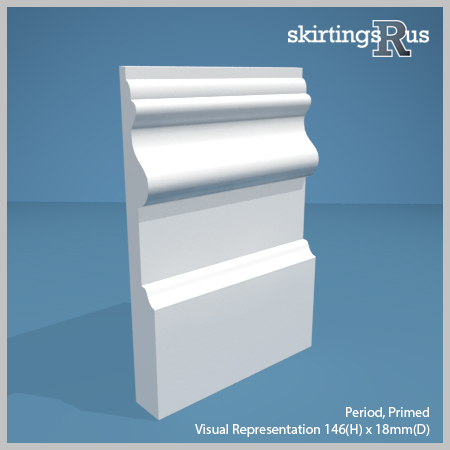 Period Skirting Board from Skirtings R Us