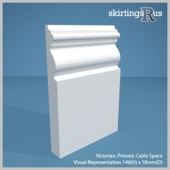 Victorian Skirting Board 146mm H 18mm D
