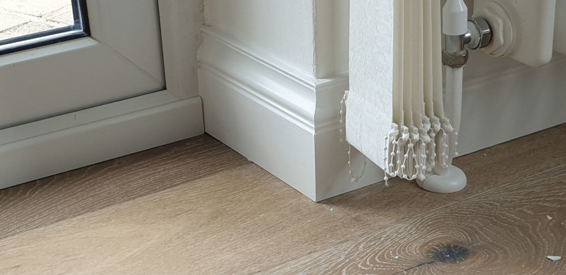 London Skirting Board installed in home